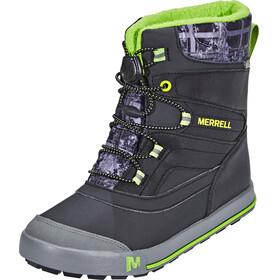 Merrell Snow Bank 2.0 Waterproof Buty Dzieci szary/czarny